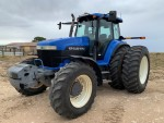 02a NH8970A FWA 3pt Link. Duals 750 Autosteer A